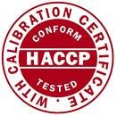 HACCP (hazard analysis and critical control points).
