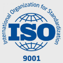 ISO 9001 certification logo | Conitex Sonoco Product Certifications