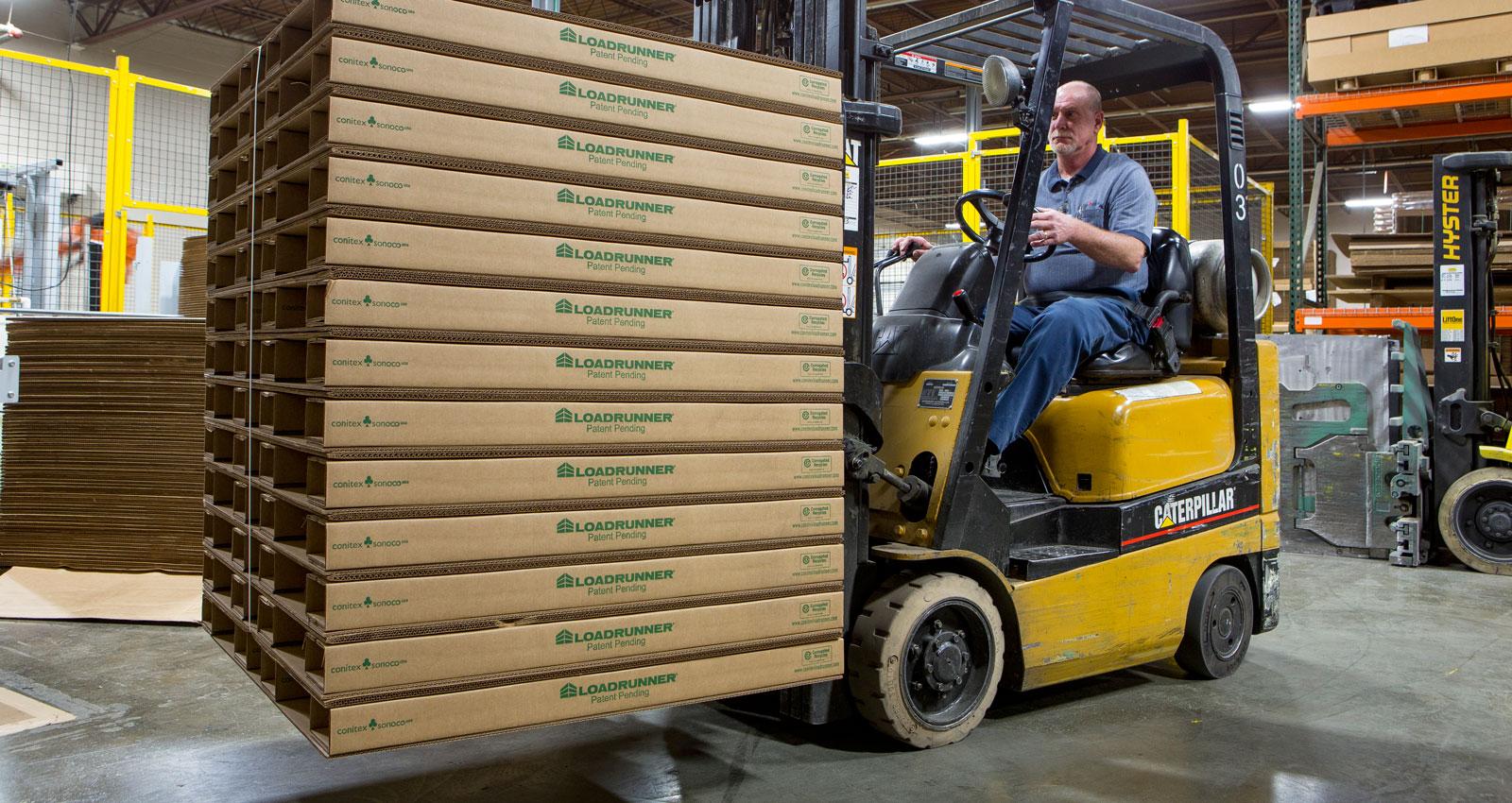 Loadrunner Corrugated Paper Pallets