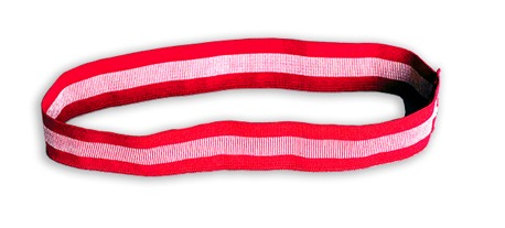 Silver Woven Spandex Identification Bands