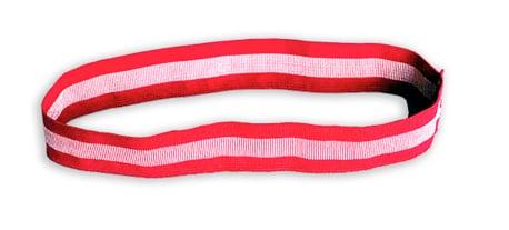 Bandas de identificación de tejido de licra