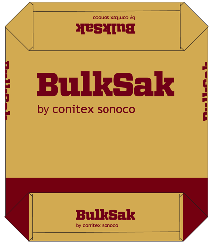 Pasted Valve Paper Bag by Conitex Sonoco and BulkSak
