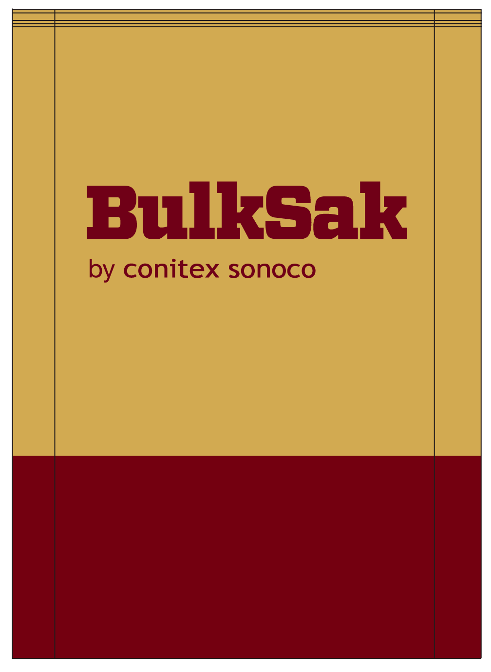 Pinched Bottom Paper Bag by Conitex Sonoco and BulkSak