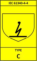 Type C FIBC bag Label