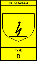 Type D FIBC bag Label