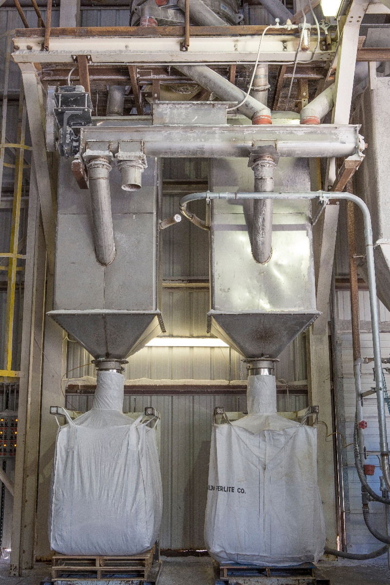 Bulk bags being filled | BulkSak