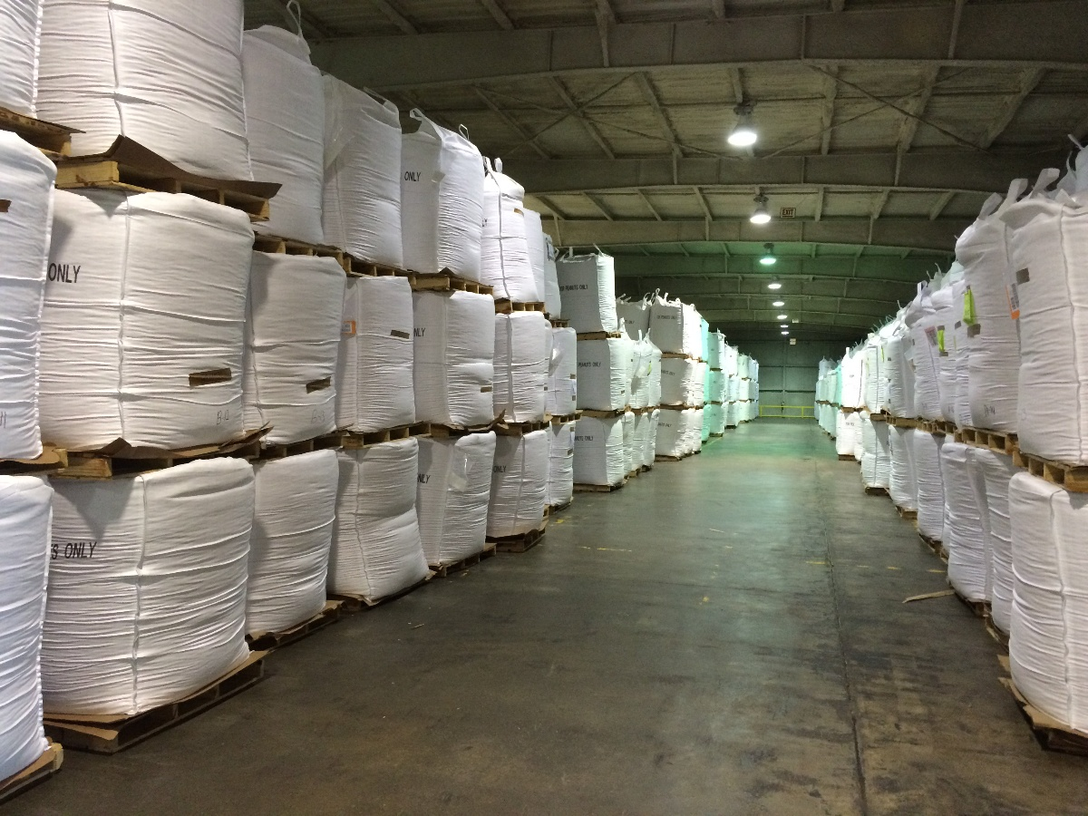 Bulk bags in warehouse | BulkSak