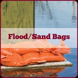 Flood Bag and Sand Bag Inventory
