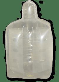 resin packaging, baffled bulk bag liners
