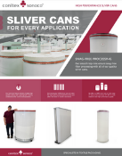 Conitex Sliver Cans Brochure Website Image