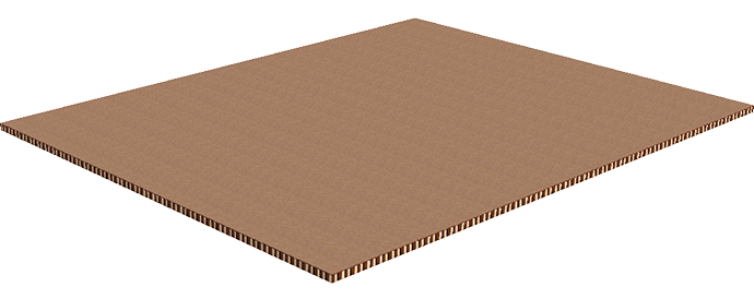 corrugated honeycomb top sheet for pallet