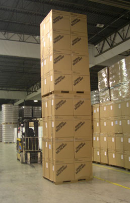 How strong are corrugated paper pallets? - Conitex Sonoco Paper Pallets