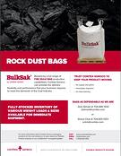 Rock Dust Brochure