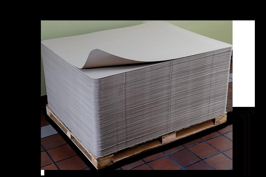 flatstack paperboard sheets, paper board, pallet liners