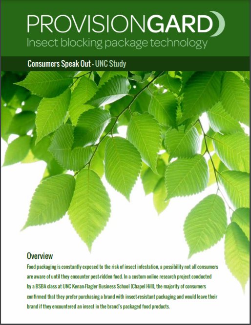Insect resistant packaging
