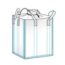 bulk bag used for hemp storage flat bottom